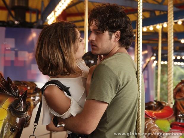 O ator crê que o amor de Amora por Bento é verdadeiro (Foto: Fábio Rocha / TV Globo)