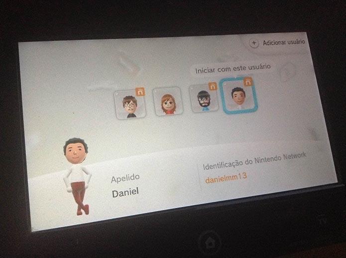 Wii U: aprenda a criar uma conta na Nintendo Network (Foto: Reprodução/Murilo Molina)