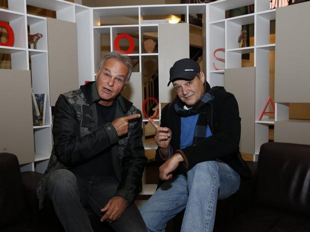 Kadu Moliterno e André Di Biase (Foto: Felipe Panfili e Leo Marinho / AgNews)