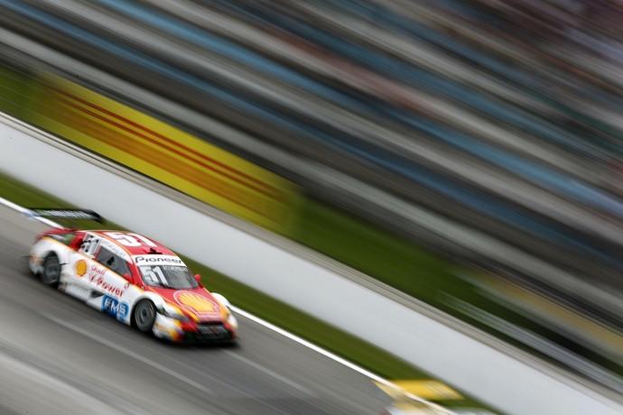 Átila Abreu e Nelsinho Piquet foram destaque da Corrida de Duplas da Stock Car (Foto: Rafael Gagliano)