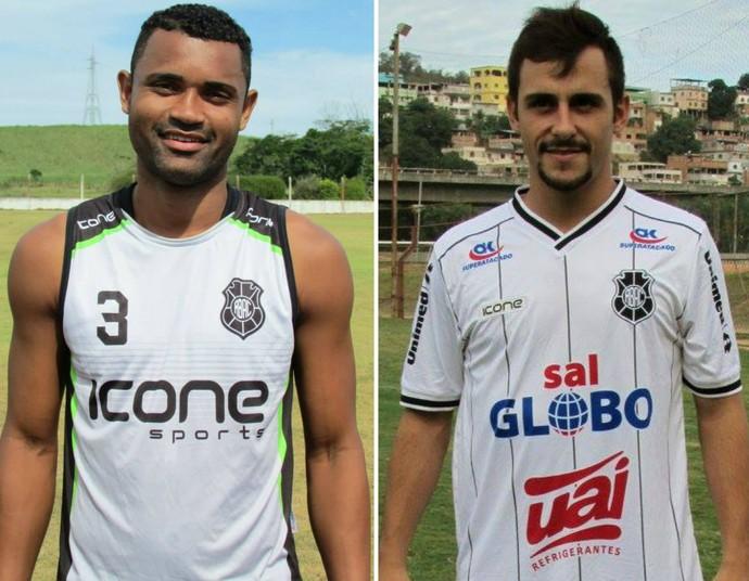 Rio Branco-ES confirma as renovações do zagueiro Marco Antônio e do meia Bruno Paiva (Foto: GloboEsporte.com)