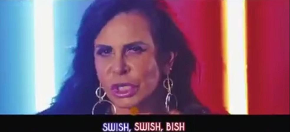 Gretchen estrelará clipe com as letras de 'Swish swish', de Katy Perry (Foto: Reprodução/Facebook/Gretchen)