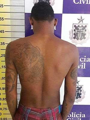 Suspeito de 10 homicídios é preso após tentar matar namorada na Bahia (Foto: Divulgação/Polícia Civil)