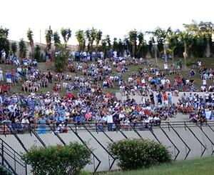 Barranco, CIC, torcida, São Bento, Walter Ribeiro, Sorocaba (Foto: Jesus Vicente / EC São Bento)