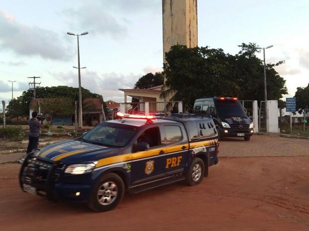 Chefes de facção que promoveu matança em Alcaçuz são transferidos (Foto: Jocaff Souza/ G1 RN)