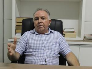 Renato Leal, presidente em exercício do Simepi (Foto: Ellyo Teixeira/G1)