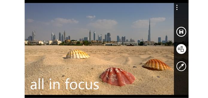 Nokia Refocus é voltado para mudar foco das fotos (Foto: Divulgação Nokia)