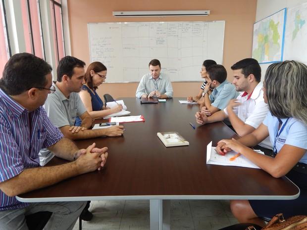 Reunião Semusa Divinópolis (Foto: Prefeitura de Divinópolis/Divulgação)