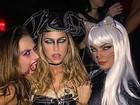 Halloween: famosos capricham nas fantasias para o Dia das Bruxas. Veja as fotos!