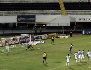 Comercial x Rio Claro, gol de Léo Costa, Paulistão (Foto: Gabriel Lopes / Comercial FC)