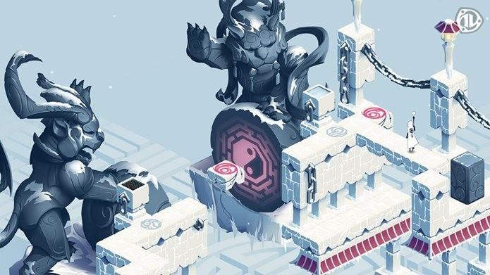 Visual bonito e história envolvente. Ghost of Memories é um jogo de quebra-cabeça diferente (Foto: Divulgação / Paplus)