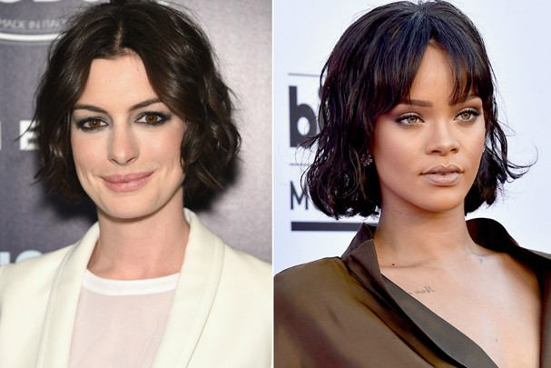 Anne Hathaway e Rihanna (Foto: Getty Images)