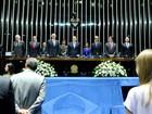 Senado faz sessão solene em homenagem aos 50 anos da TV Globo
