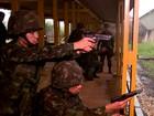 Fantástico mostra como militares se preparam para atuar em cidades