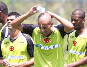 Wendel, treino do Vasco (Foto: Marcelo Sadio / Vasco.com.br)