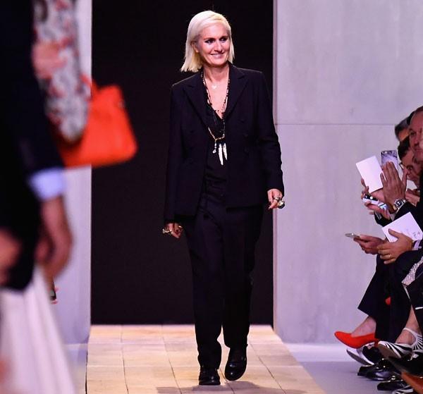 Maria Grazia, diretora criativa da Dior (Foto: Getty Images)