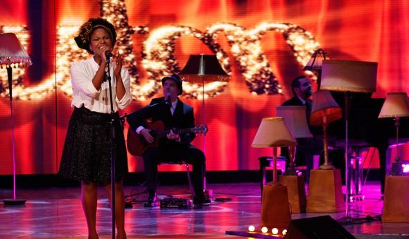 Jesuton Cantora Caldeirão (Foto: Caldeirão do Huck / TV Globo)