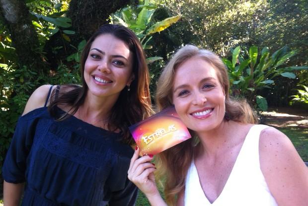 Leila do Volêi participa do Estrelas especial de férias (Foto: Estrelas/ TV Globo)