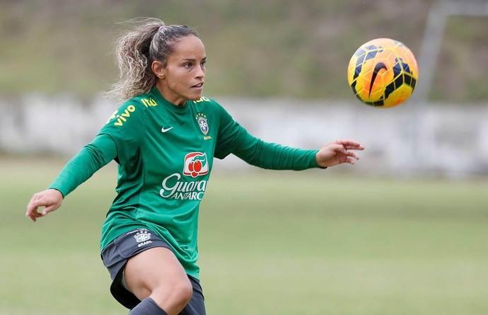 Mônica Alves seleção brasileira (Foto: Rafael Ribeiro / CBF)