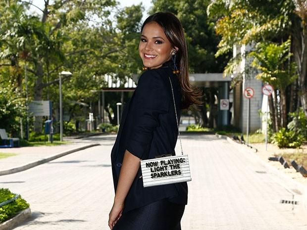 Bruna Marquezine volta à TV como Mari, em I Love Paraisópolis (Foto: Raphael Dias/Gshow)