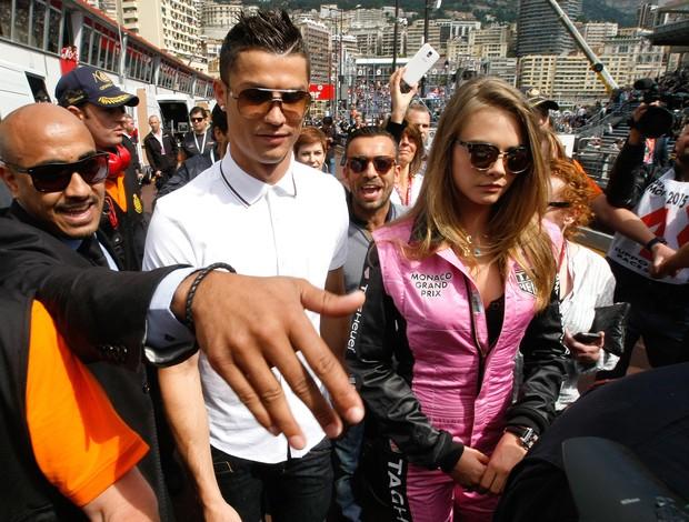 Cristiano Ronaldo no GP de Monaco