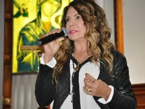 Elba Ramalho explicou a importância de barrar a legalização do aborto no Brasil. (Foto: Gabriela Pavão/ G1 MS)