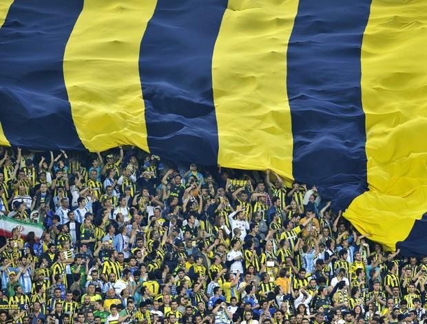 Torcida Fenerbahçe (Foto: AFP)