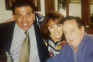Rubén Aguirre, Maria Antonieta e Roberto  Bolaños (Foto: Reprodução/Facebook)