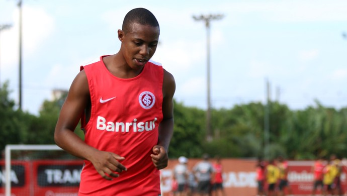 Wellington Martins, volante do Inter (Foto: Diego Guichard)