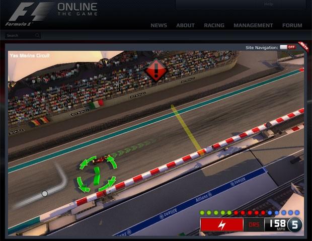 Game 'F1 Online: The Game' tem fase de testes aberta ao público (Foto: Reprodução)