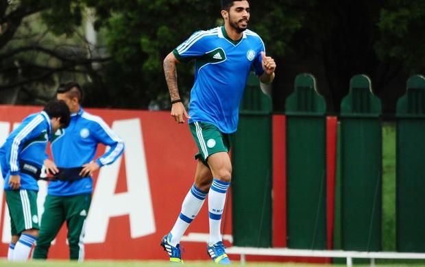 Vilson, zagueiro do Palmeiras (Foto: Marcos Ribolli/Globoesporte.com)