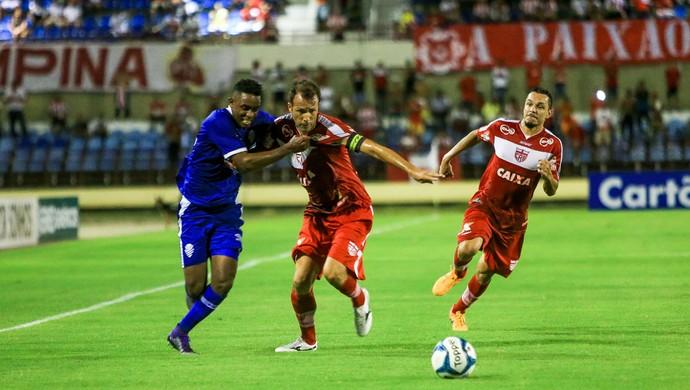 CRB x CSA Alex Henrique e Gabriel  (Foto: Ailton Cruz/Gazeta de Alagoas)