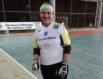 Cleidy Lima, goleira do Vitória-AC  (Foto: Cleidy Lima/arquivo pessoal)