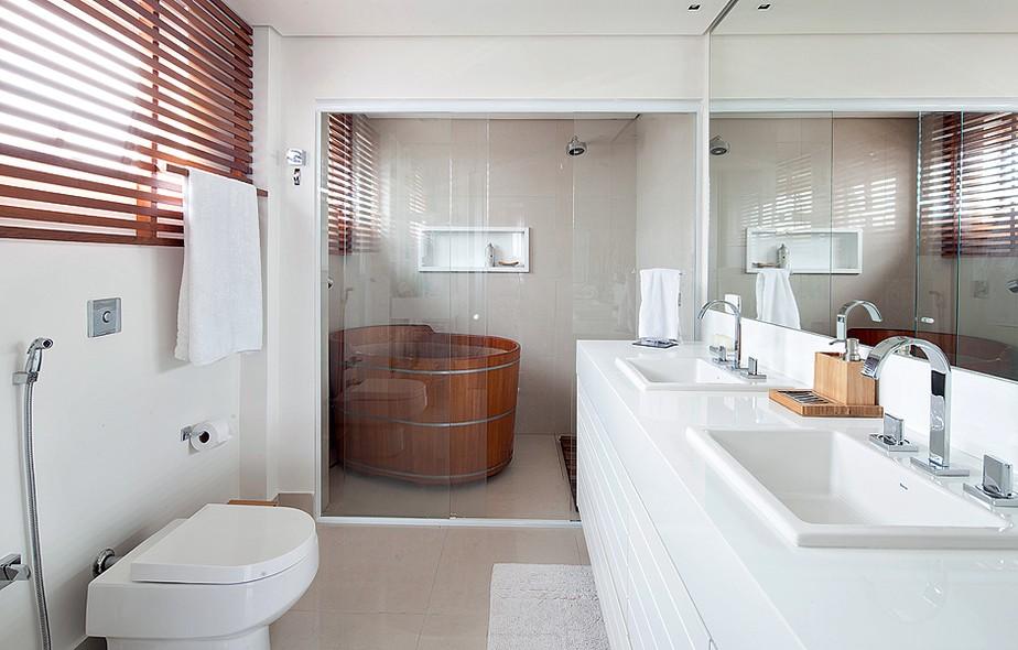 Banheiros e lavabos  Casa e Jardim  Galeria de fotos -> Banheiro Pequeno Ofuro