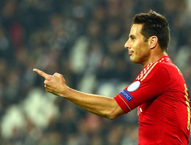 Claudio Pizarro gol Bayern de Munique Juventus (Foto: AFP)