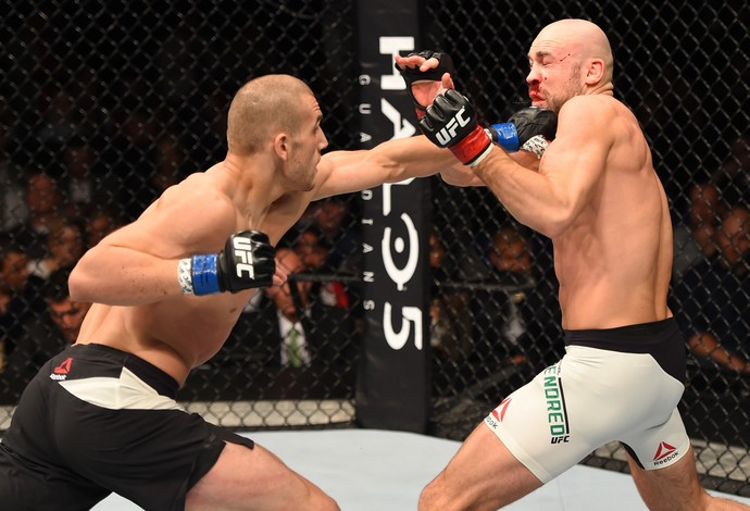 Tom Breese Cathal Pendred UFC Dublin 2 (Foto: Getty Images)