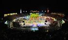 Caprichoso celebrou tradição no festival (Alex Pazuello/Agecom)