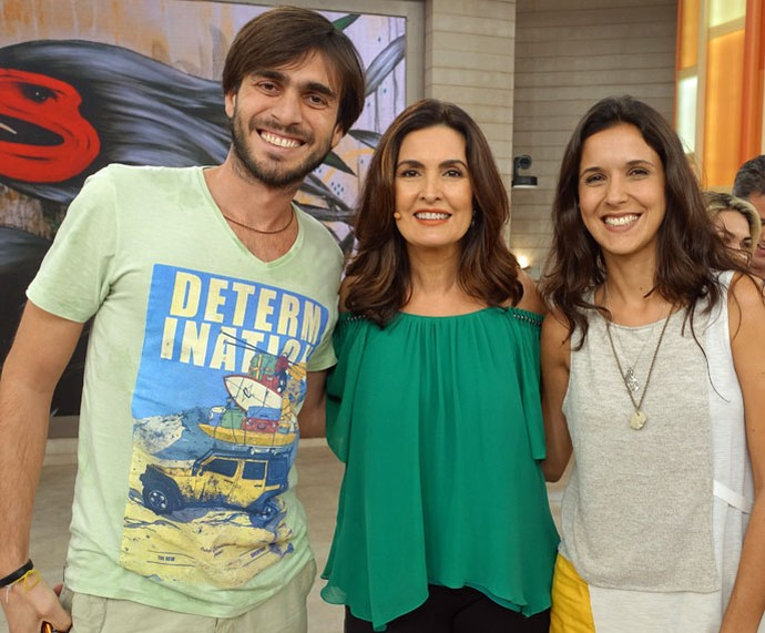 Convidados do programa com a Fátima (Foto: Juliana Hippert/Gshow)
