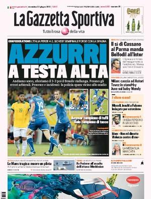 Capa Gazzetta (Foto: Reprodução)