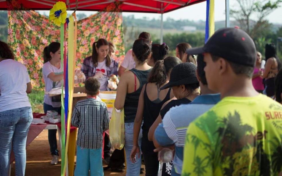 Grupo Irmão Amigo fará festa junina beneficente, em Goiânia (Foto: Reprodução/Facebook)