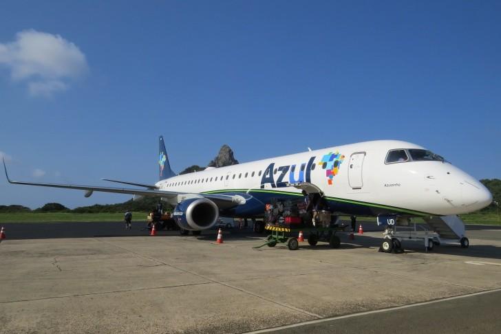 Avião Azul Fernando de Noronha