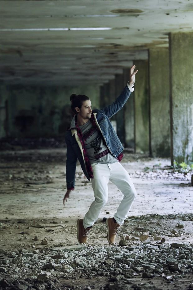 Raphael Sander posa para o EGO (Foto: Marcos Serra Lima/EGO)