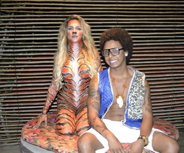 Dani Vieira e MC Curuja (Foto: DGN Assessoria)