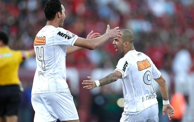 Diego Tardelli gol Atlético-MG contra Tijuana (Foto: AP)