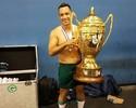 """Daniel Carvalho comemora primeiro título no Goiás: """"Muita gente duvidava"""""""