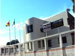 Polícia Militar de Janaúba  (Foto: Sg Elton Freitas/PM)
