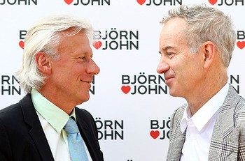 tênis bjorn borg john mcenroe (Foto: agência Getty Images)