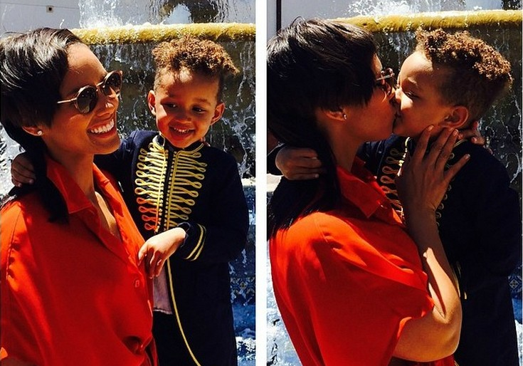 """A cantora Alicia Keys deu o nome de Egypt (""""Egito"""") Daoud ao filho que teve com o dj e produtor Swizz Beatz. (Foto: Instagram)"""