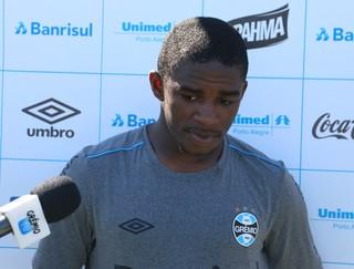 Yuri Mamute Grêmio  (Foto: Eduardo Moura/Globoesporte.com)
