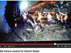 Mineiros australianos são demitidos por 'Harlem Shake' subterrâneo